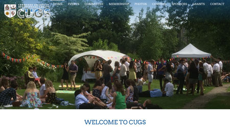 Cambridge University Geographical Society (CUGS)